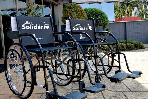 Lacre Solidário: Cadeiras de rodas são doadas a pacientes das Osid
