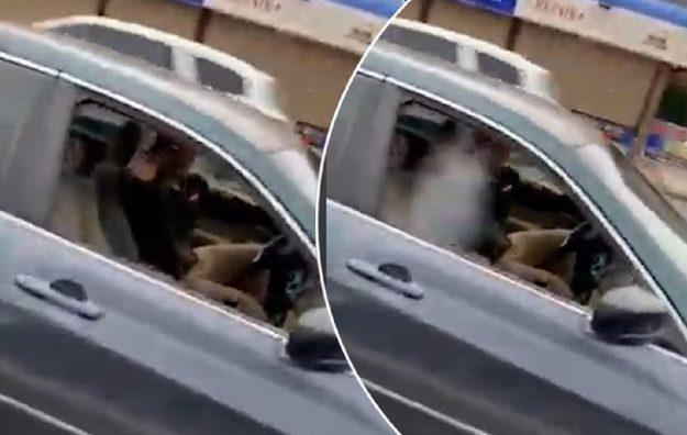 Vídeo: homem atira em outro no trânsito; assista momento exato