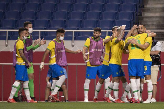 Brasil 1 x 0 Egito – Matheus Cunha marca e seleção segue vivo em busca do bi olímpico